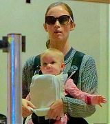 Emily Blunt Arriving at LAX Airport with John And Hazel - September 14