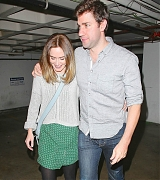 Emily Blunt and John Krasinski with Matt Damon, Ben Affleck, Jennifer Garner Triple Date