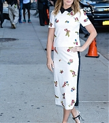 Dakota Johnson Arrives 'The Late Show with Stephen Colbert' - September 14