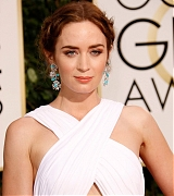 Emily Blunt Arrives at 72nd Annual Golden Globe Awards - January 11
