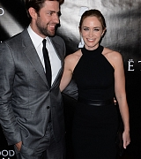Emily Blunt and John Krasinski at HFPA Grants Banquet - August 13