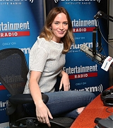 Emily Blunt at SiriusXM Studios - September 30