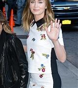 Dakota Johnson Arrives 'The Late Show with Stephen Colbert' - September 14