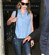 Emily Blunt Arrives at LAX Airport - January 21