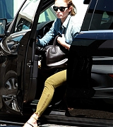 Emily Blunt at a Local Salon - August 24