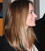 Emily Blunt at Fool For Love Broadway Opening Night - October 8