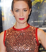 Emily Blunt at 'Sicario' UK Premiere - September 21