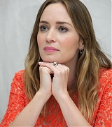 Emily Blunt at 'Sicario' Press Conference - September 12