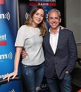 Emily Blunt at SiriusXM Studios - September 30
