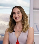 Emily Blunt on 'The Today Show' on September 17, 2015
